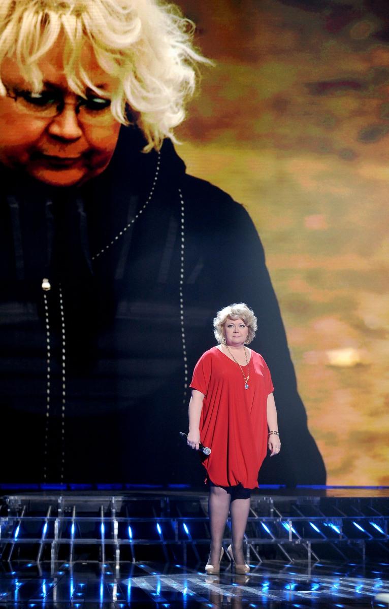 Małgorzata Szczepańska-Stankiewicz w pierwszym programie na żywo