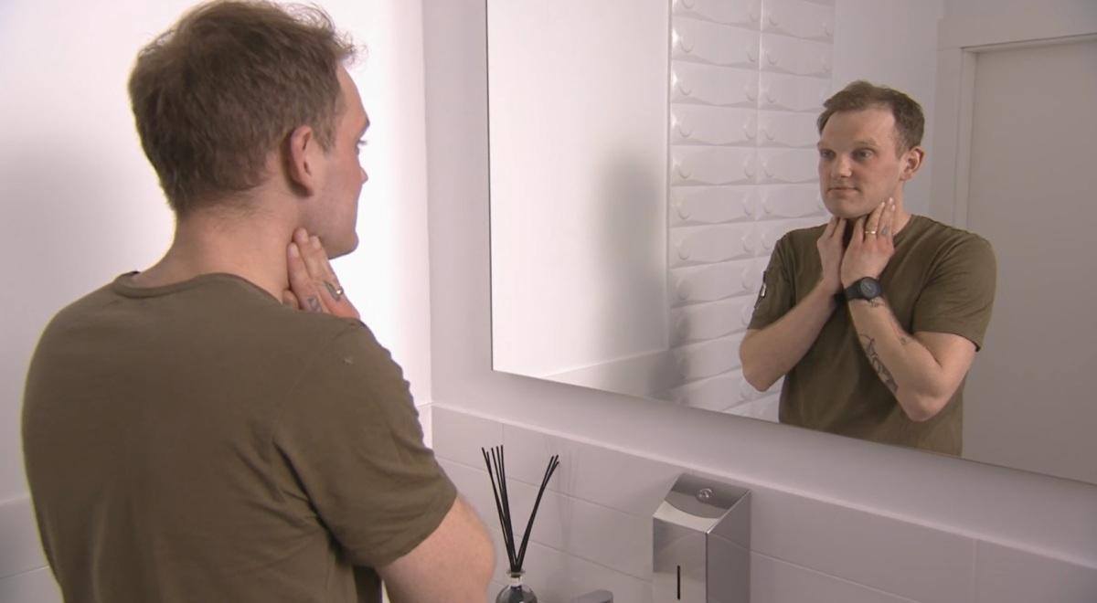 Sekrety lekarzy: pan Maciej po goleniu